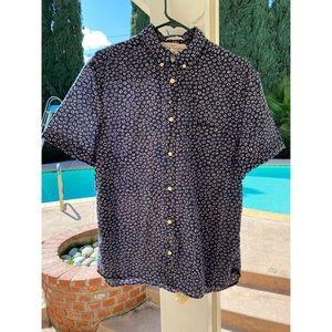Short Sleeve Button Down Thin Shirt